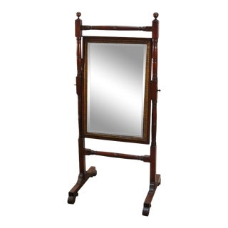 Cheval Mirror from the Regency Era For Sale