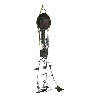 Charming Hot Air Balloon Metal Light Fixture For Sale