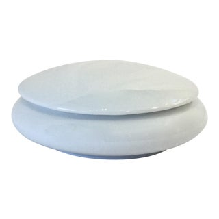 White Porcelain Vanity Box For Sale