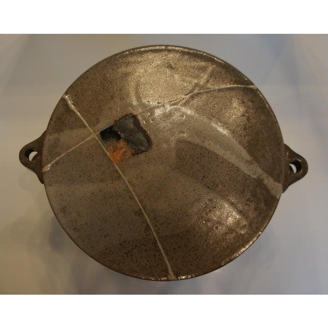 Mid Century Signed Studio Pottery Lidded Casserole Dish - Image 4 of 7