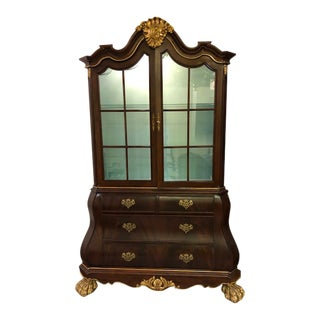 French Bombay Vitrine China Display Cabinet For Sale