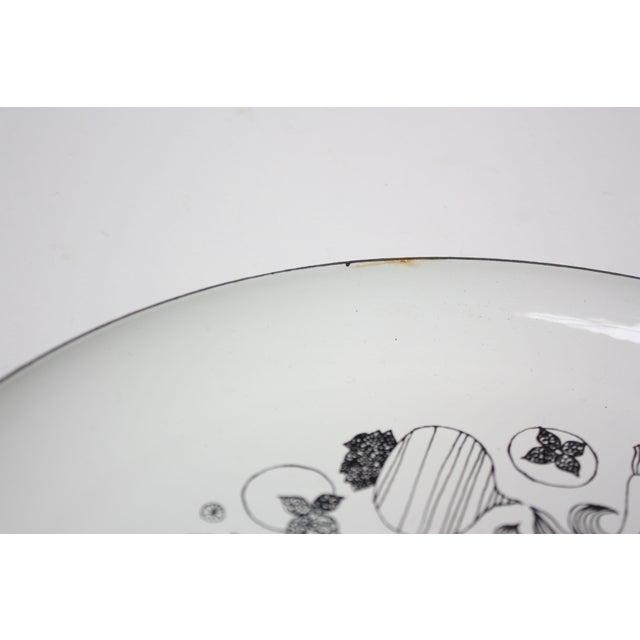 Enamel Georges Briard Enamel Fruit / Vegetable Plate For Sale - Image 7 of 9