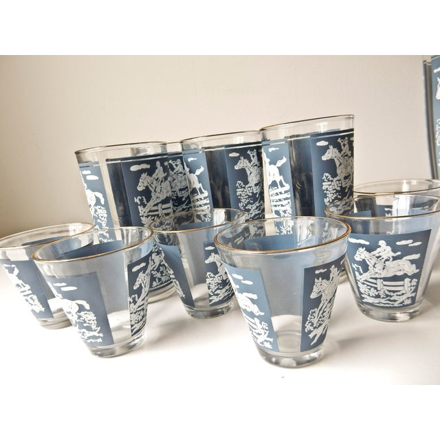 Vintage Cocktail Shaker and Glasses Set - Set of 11 For Sale In Chicago - Image 6 of 10