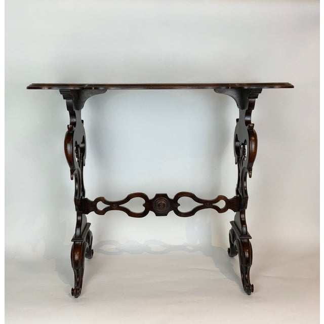 Victorian 19th Century Victorian Side Table For Sale - Image 3 of 13
