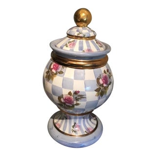 Original MacKenzie-Childs Lidded Canister For Sale
