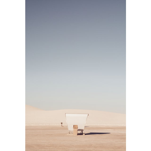 White Sands Original Framed Photograph For Sale In Los Angeles - Image 6 of 6