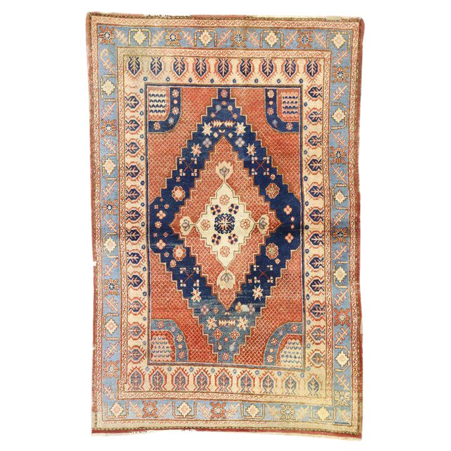 20th Century British Colonial Persian Hamadan Rug For Sale