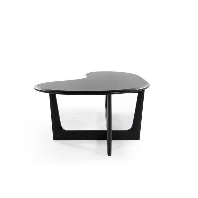 Asymmetric Mid-Century Modern Walnut Coffee Table For Sale - Image 4 of 11