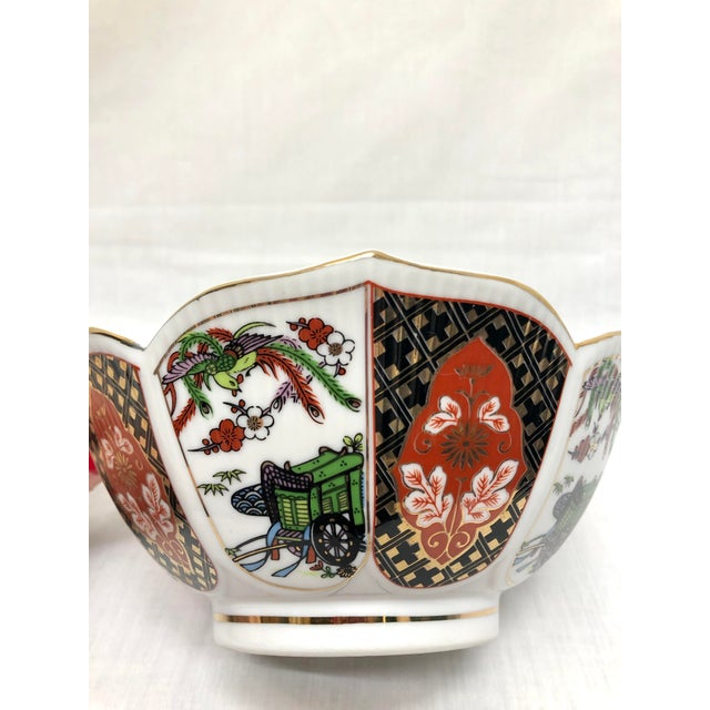 Asian Japanese Style Imary Bowl For Sale - Image 3 of 8