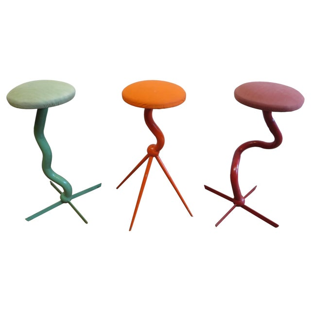 Bar Stools by Patrice Goujon For Sale - Image 13 of 13