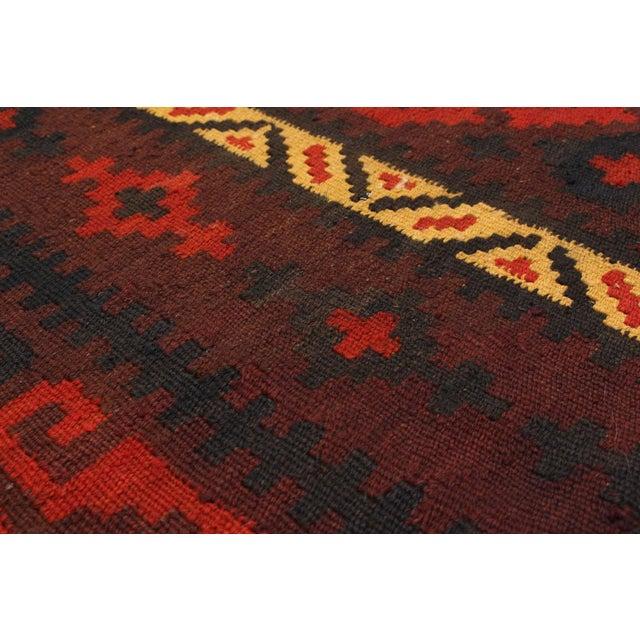Kashkuli Persian Kilim - 7′10″ × 10′ - Image 2 of 2