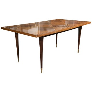 Mid-Century Dining Table by Tommi Parzinger For Sale