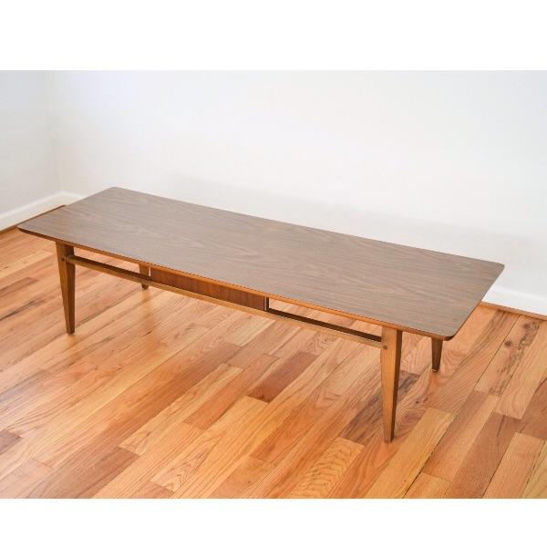 Mid Century Vintage Lane Coffee Table   Image 2 Of 6