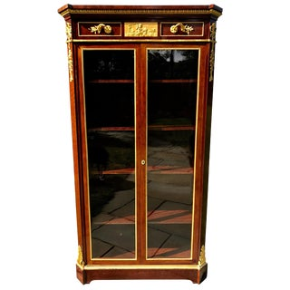Display Cabinet by Beurdeley, Paris For Sale
