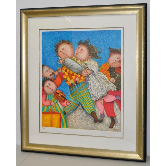 Graciela Rodo Boulanger Signed & Numbered Lithograph c.1980 - Image 3 of 9