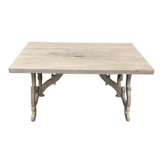White Wash Writing Desk For Sale