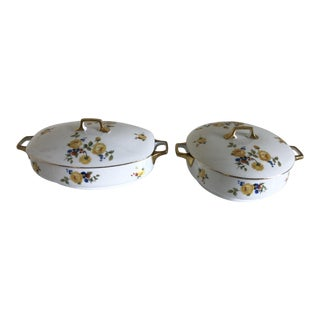 Vintage Edelstein Bavaria Soup Tureens - A Pair For Sale
