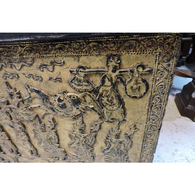 Anonymous Manuscript Chest From Buddhist Temple For Sale - Image 4 of 6
