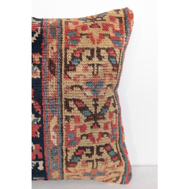 Antique Caucasian Rug Pillow For Sale - Image 4 of 9