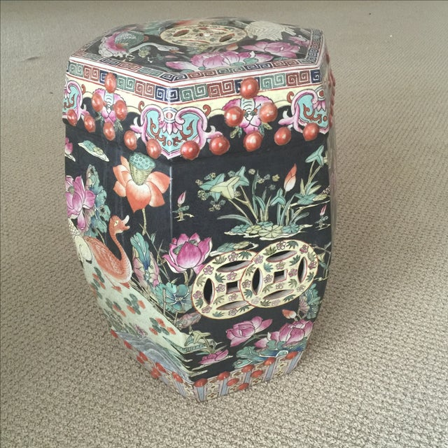 Chinoiserie Garden Stool - Image 2 of 9