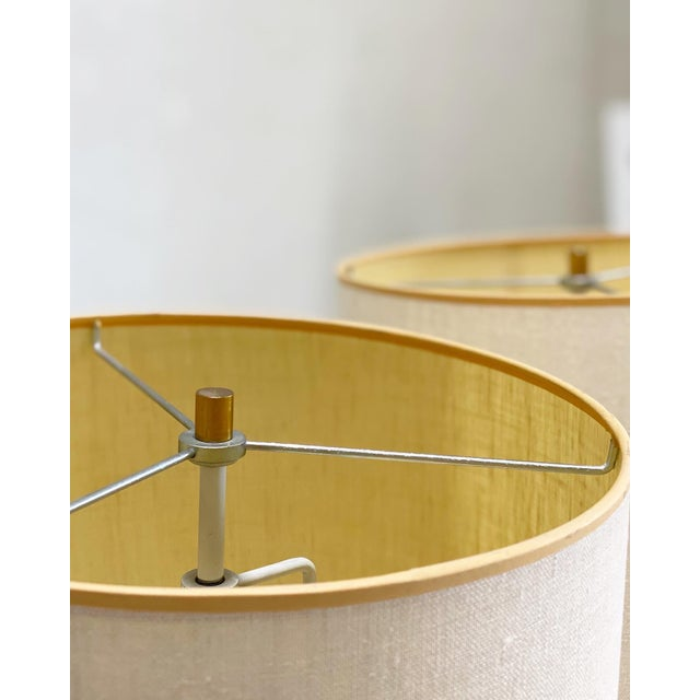 Mid-Century Modern Vintage Laurel Brass Floor Lamps Designed by Harold Weiss and Richard Barr - a Pair For Sale - Image 3 of 6