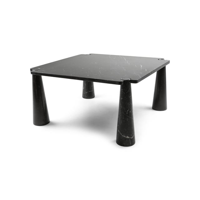 Angelo Mangiarotti 'Eros' Square Marble Dining Table For Sale - Image 9 of 9