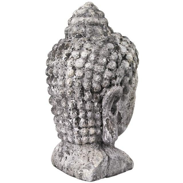 Concrete Buddha Head - Image 3 of 5
