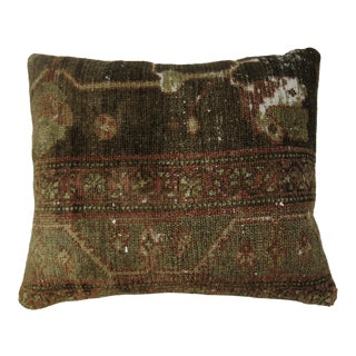 Antique Rug Pillow For Sale