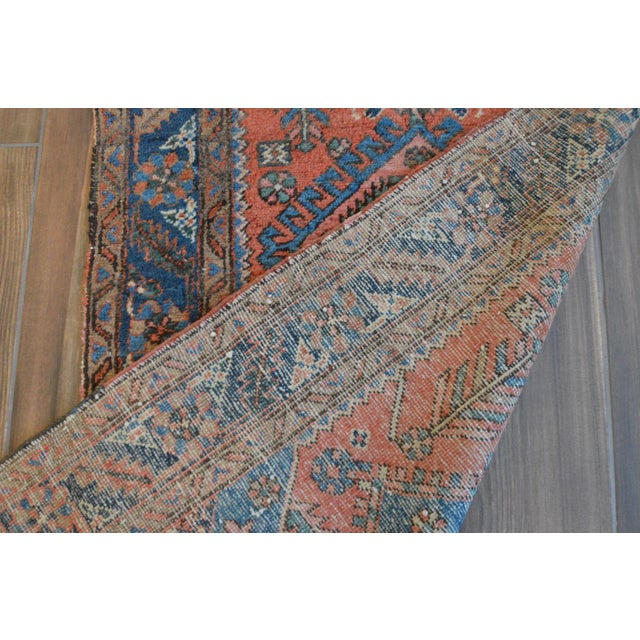 "Antique Persian Heriz Rug - 3' x 5'7"" - Image 11 of 11"