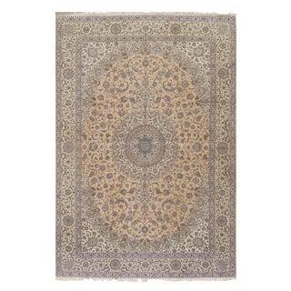 Pasargad Super Fine Persian Nain Silk & Wool Rug - 13' X 20' For Sale