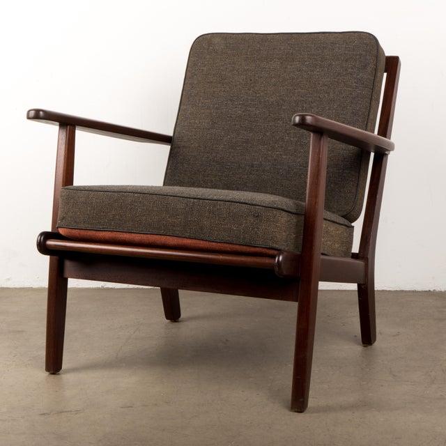 Vintage Mid Century Danish Modern Teak Lounge Chairs A Pair Chairish