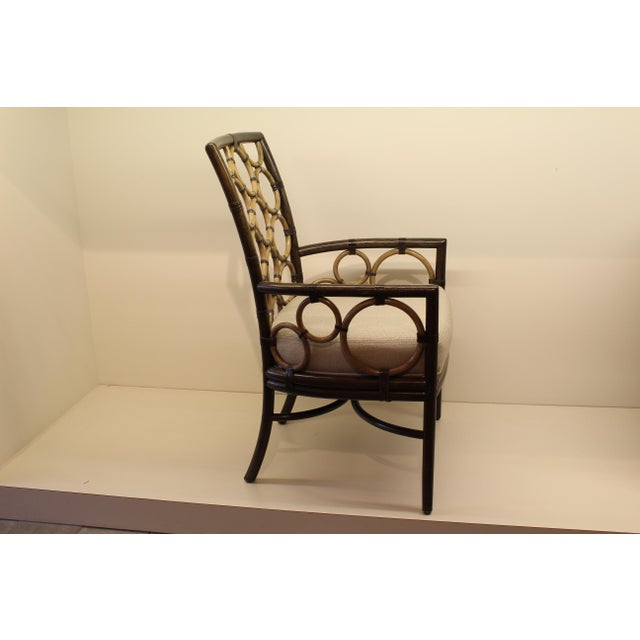 McGuire Laura Kirar Ring Arm Chair - Image 3 of 6