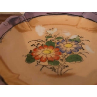 Vintage Floral Lusterware Dish Preview