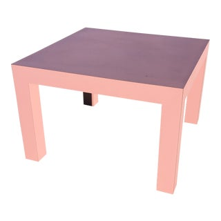 1980s Postmodern Pink Display Table For Sale