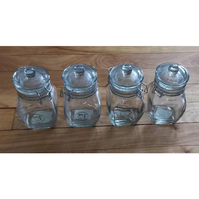 Global Amici Glass Jars - Set of 4 - Image 3 of 9