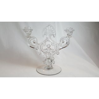 Crystal 1441 Key Hole Candelabrum by Cambridge Preview