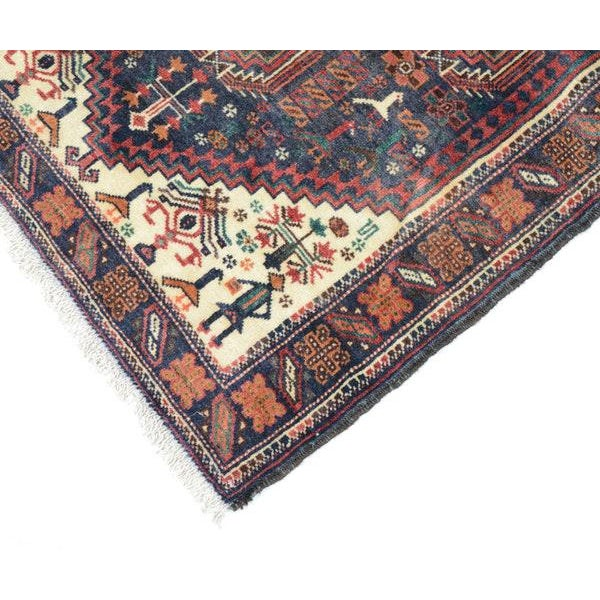 Hand Knotted Persian Baluch Rug - 3′3″ × 6′10″ For Sale In New York - Image 6 of 9
