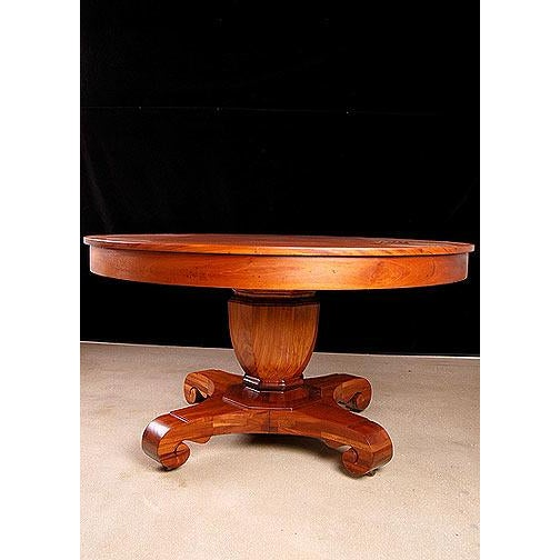 Traditional Brown & Simonds Antique Mahogany Dining Table For Sale - Image 3 of 5