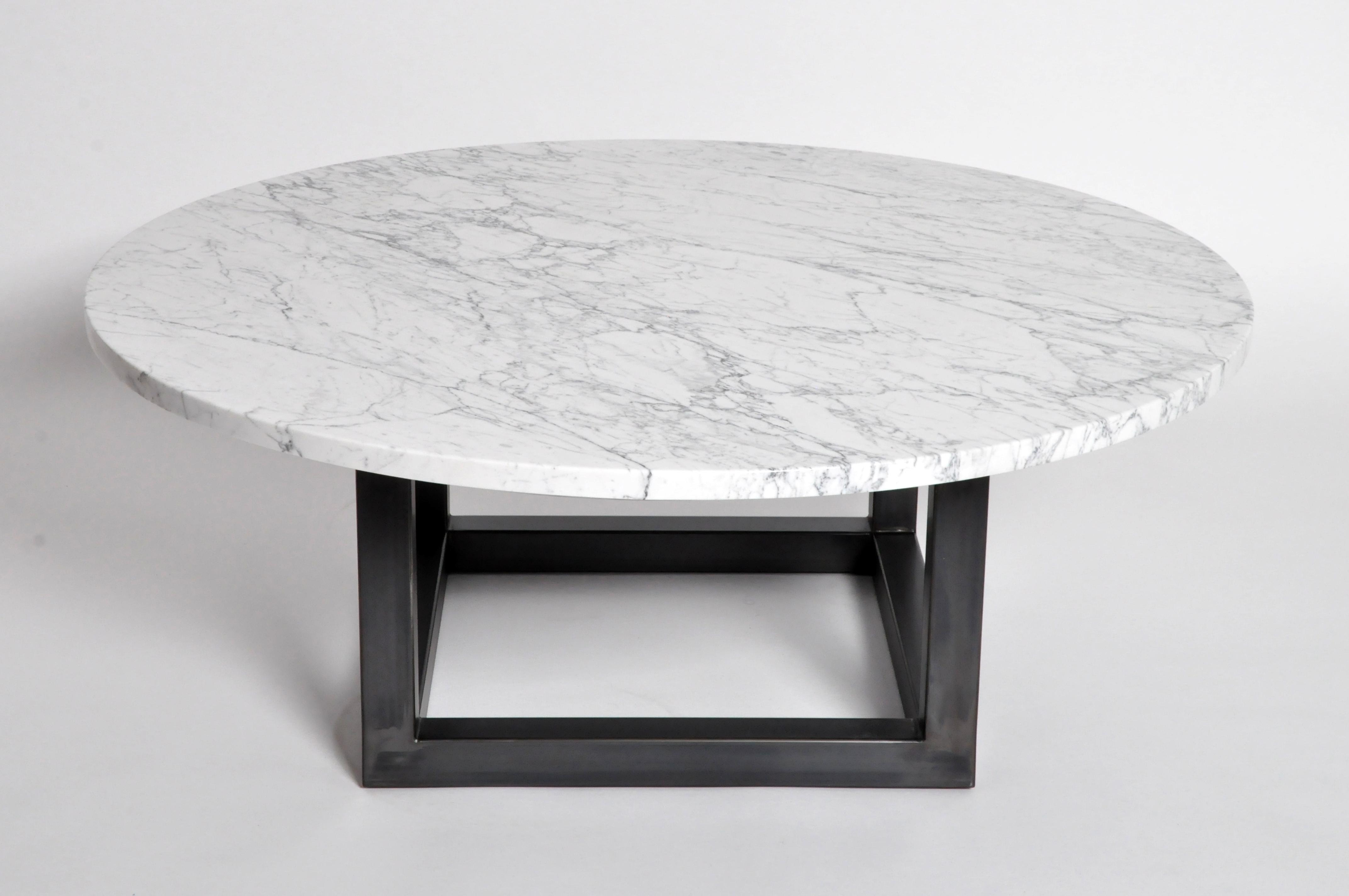Round Marble Coffee Table For Sale   Image 4 Of 11