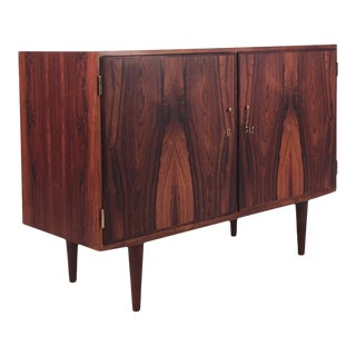 1960s Vintage Danish Rosewood Cabinet For Sale