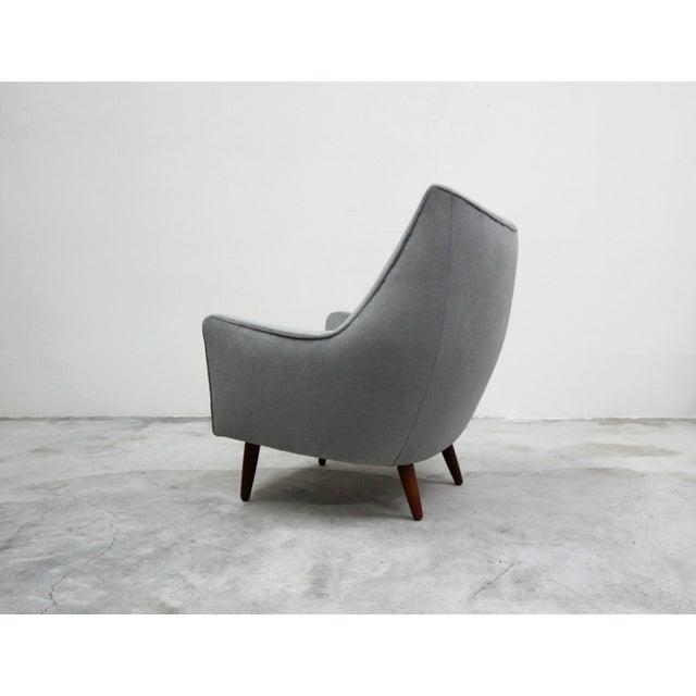 Hans Olsen Mid Century Danish Lounge Chair by Hans Olsen For Sale - Image 4 of 9