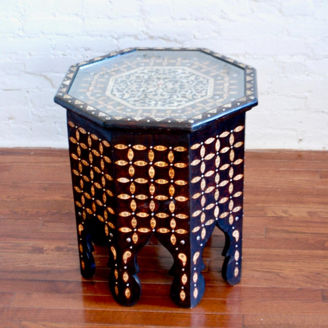 Cedar wood and henna-dyed bone are used to craft these elegant tables. Available in square and rectangular shapes, they're...