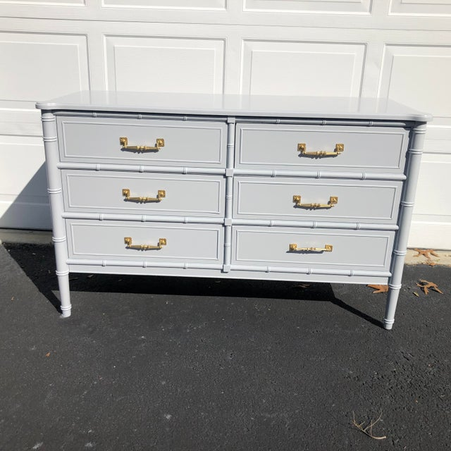 1970s Lacquered Henry Link Dresser For Sale - Image 12 of 12