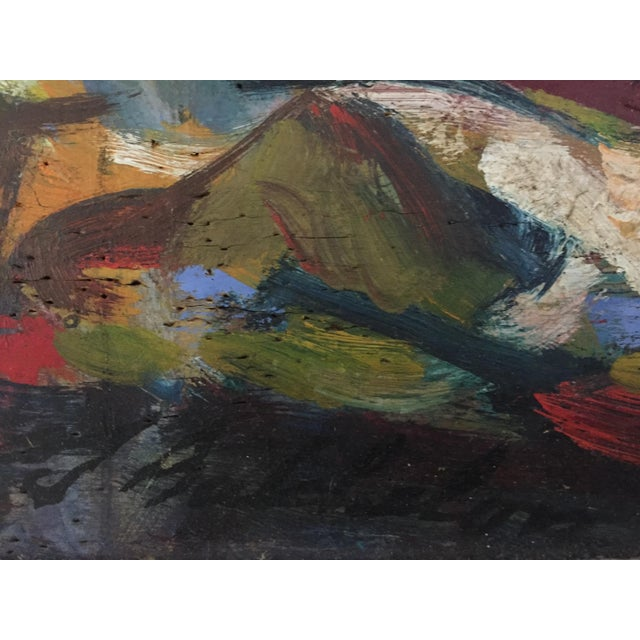 Jonathan Batchelor Expressionist Painting - Image 6 of 10