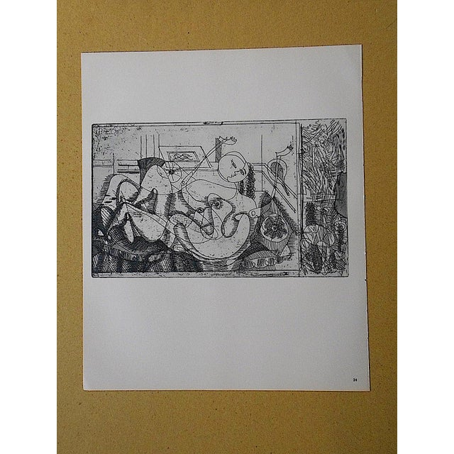 Contemporary Vintage Lithograph by Georges Braque For Sale - Image 3 of 3