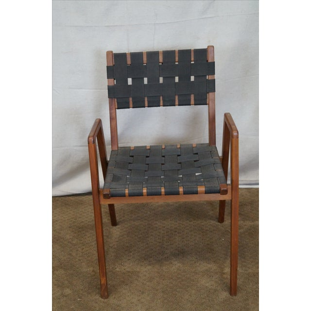 Knoll Studio Jens Risom Mid Century Arm Chair - Image 2 of 10