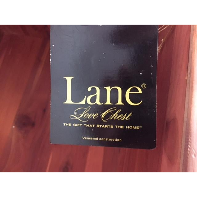 Lane Mid-Century Love Chest/Trunk - Image 7 of 7