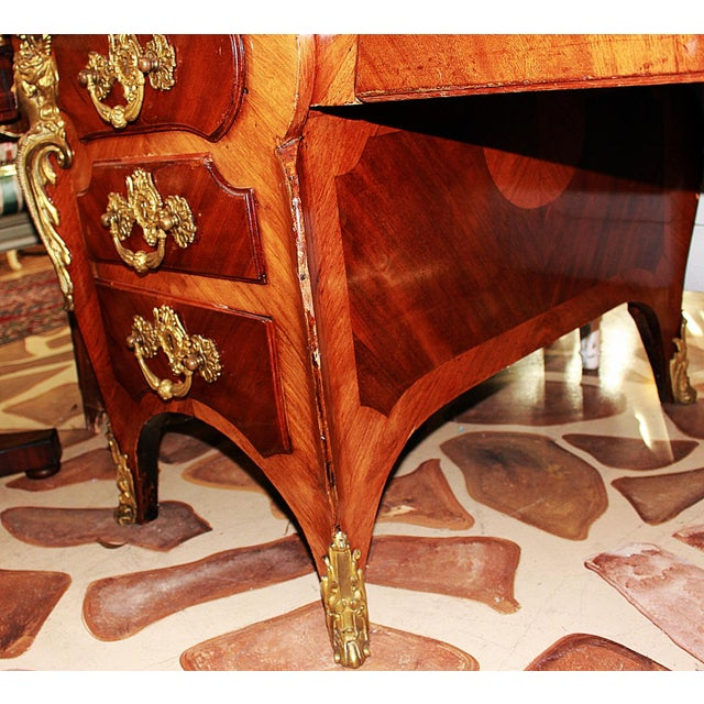 Antique French Ferdinand Marcos Estate Desk For Sale - Image 9 of 10