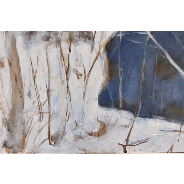 "Stephen Remick Stephen Remick ""Destruction Brook at Ella's Bridge""Contemporary Painting For Sale - Image 4 of 9"