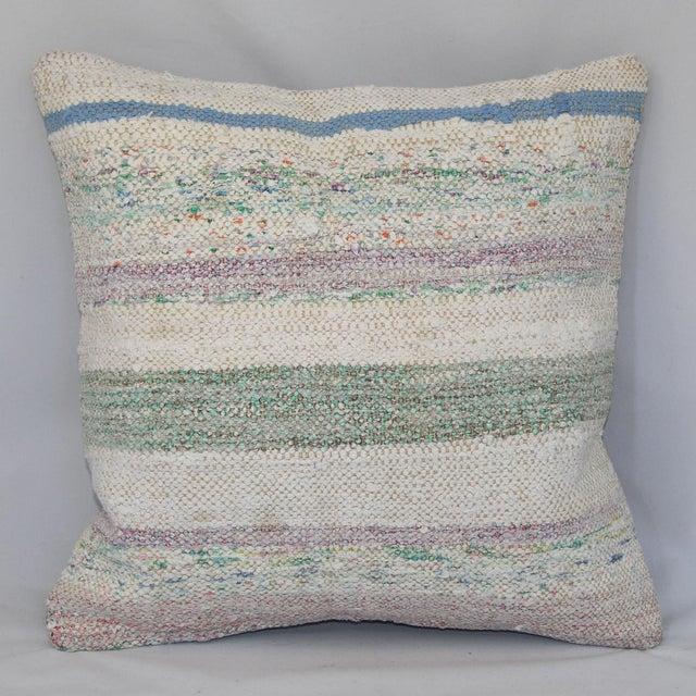 Turkish Handmade Kilim Pillow Cover - Image 2 of 6